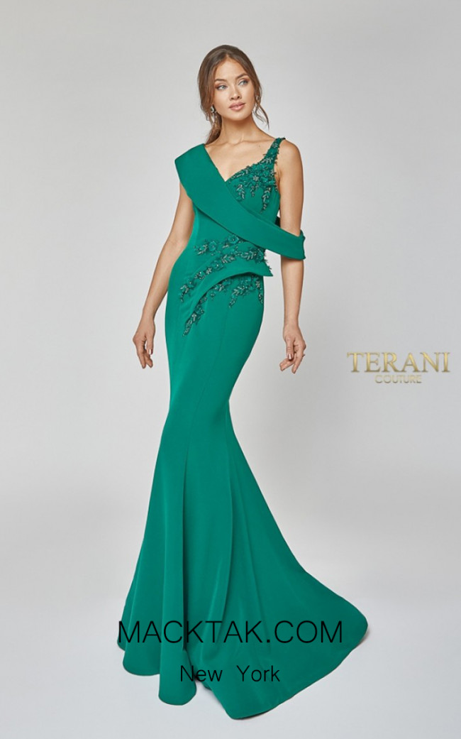 Terani Couture 1921M0476 Front Dress