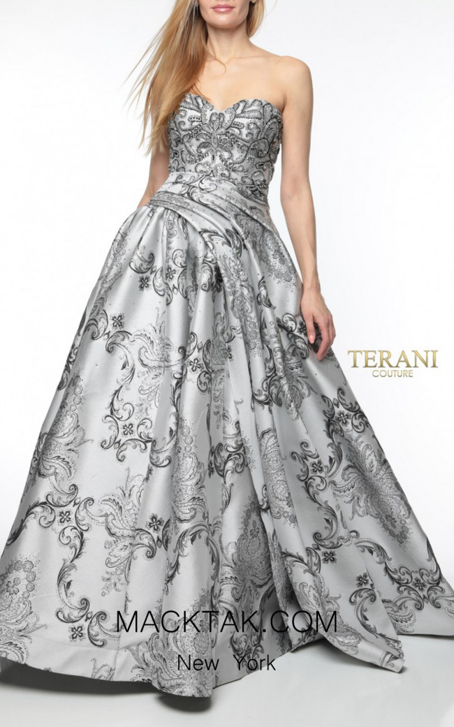 Terani Couture 1921M0501 Front Dress