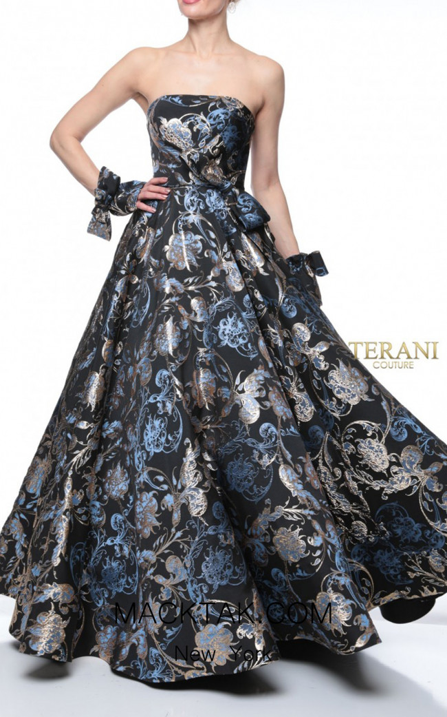 Terani Couture 1921M0503 Front Dress