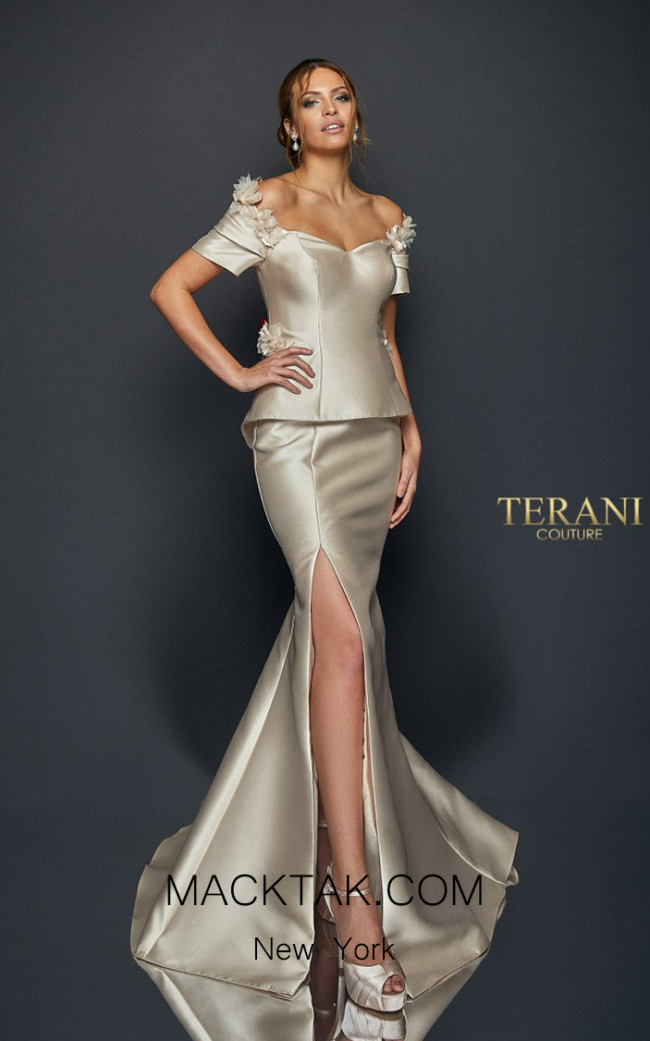 Terani Couture 1921M0745 Front Dress