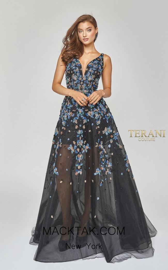 Terani Couture 1922E0205 Front Dress