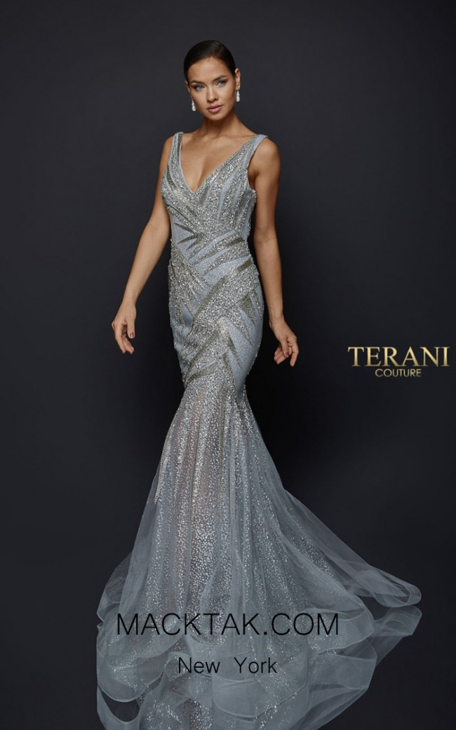Terani Couture 1922GL0651 Front Dress