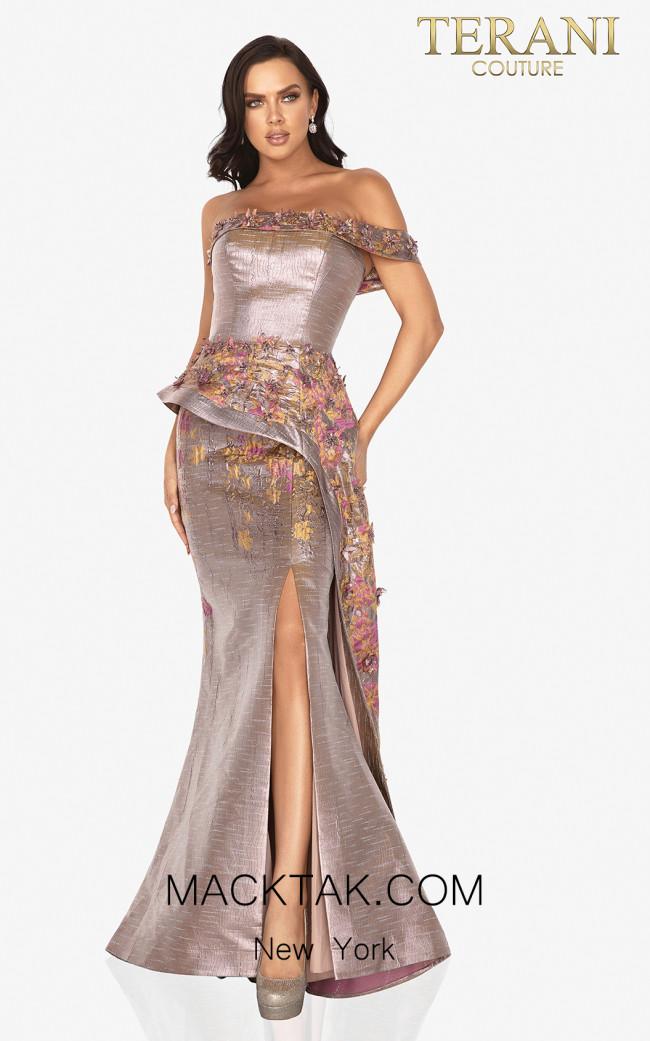 Terani 2011E2040 Amber Rose Front Dress