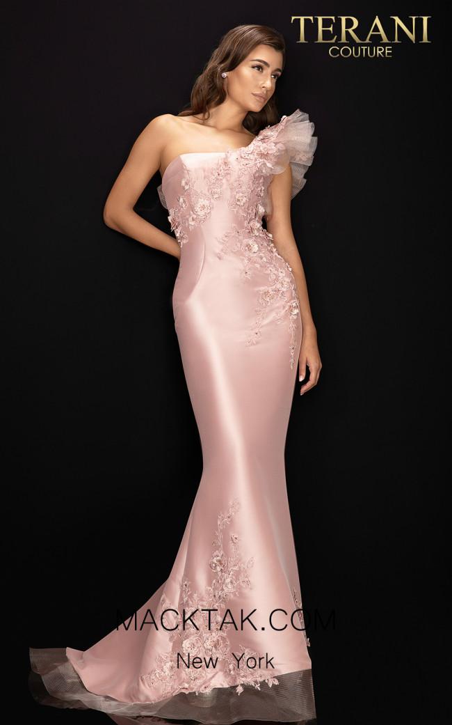 Terani 2011E2094 Rose Front Dress