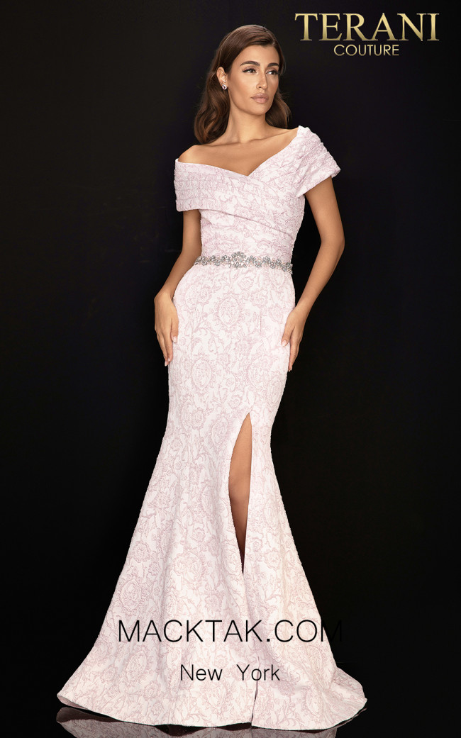 Terani 2011M2168 Orchid Front Dress