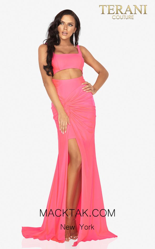 Terani 2011P1061 Barbie Front Dress