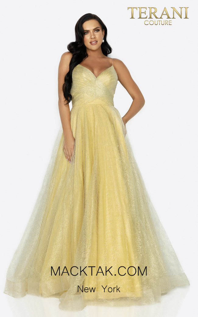 Terani 2011P1225 Front Dress