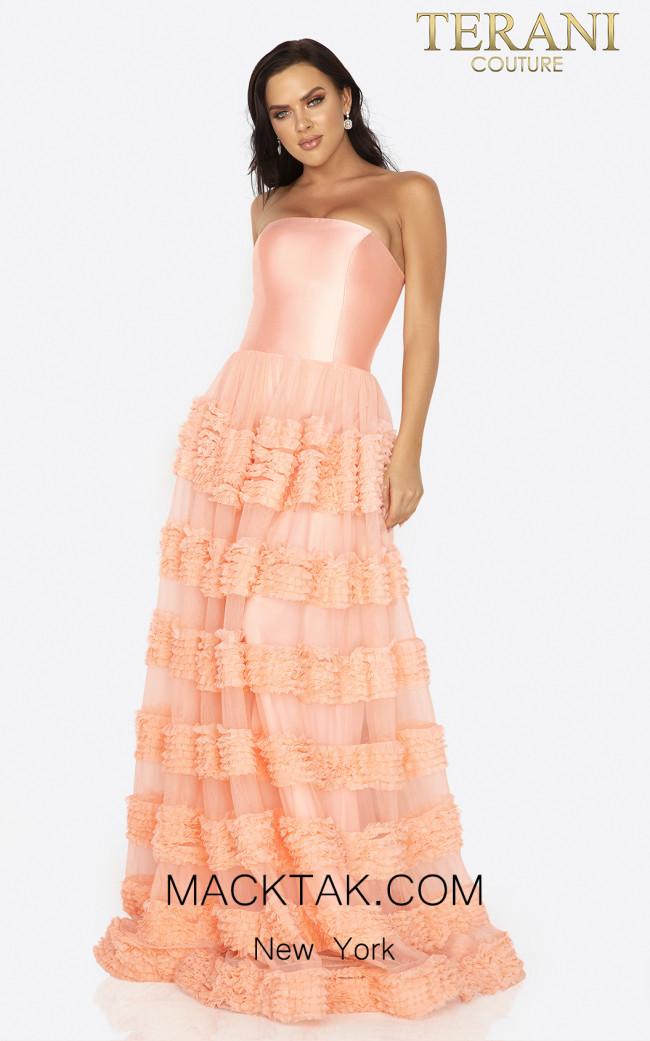 Terani 2012P1402 Sorbet Front Dress