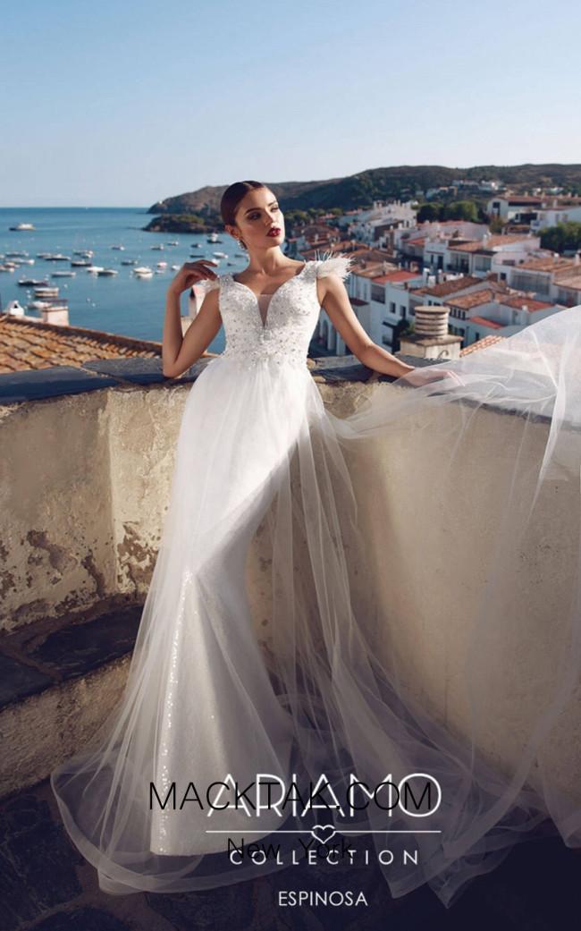 Tesoro By Ariamo Espinosa Ivory Front Dress