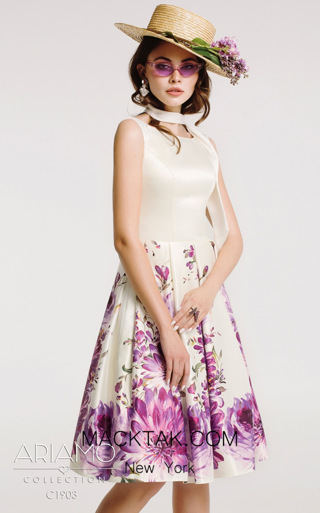 Ariamo C1903 Front Dress