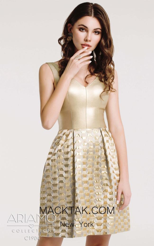 Ariamo C1904 Front Dress