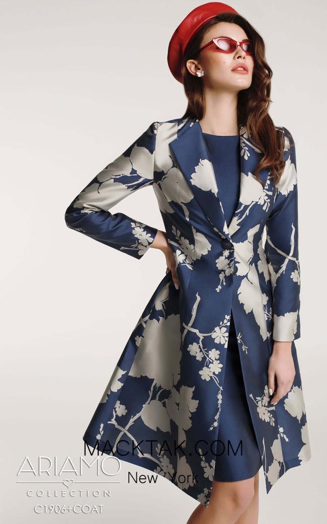Ariamo C1906 coat Front Dress