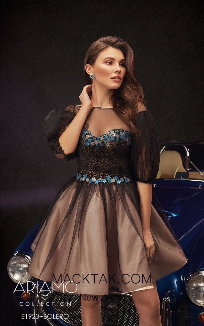 Ariamo E1923+bolero Front2 Dress