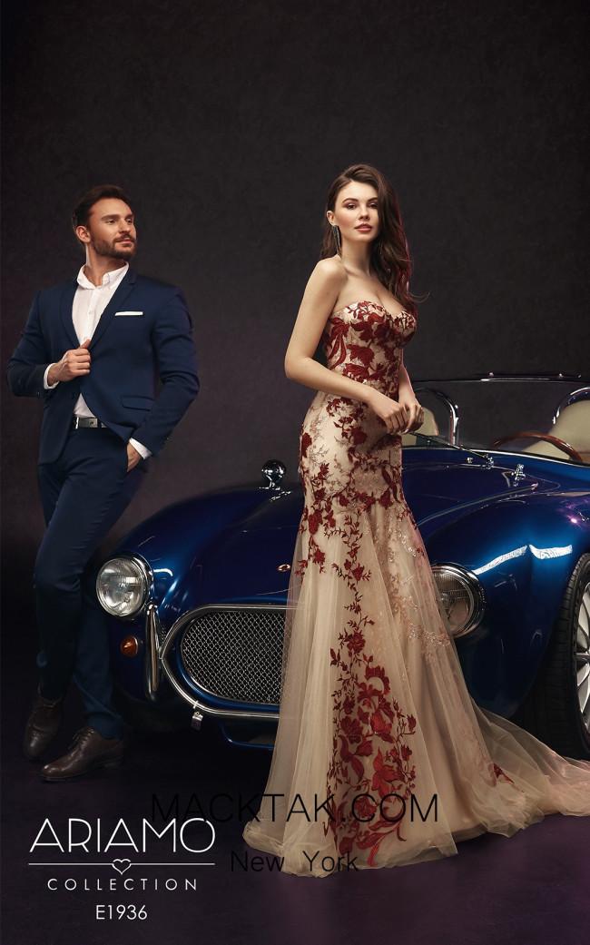Ariamo E1936 Front Dress