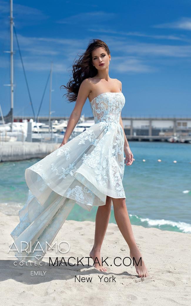 Ariamo Emily Front Dress