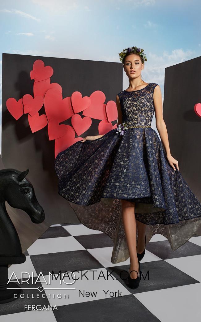 Ariamo Fergana1 Front Dress