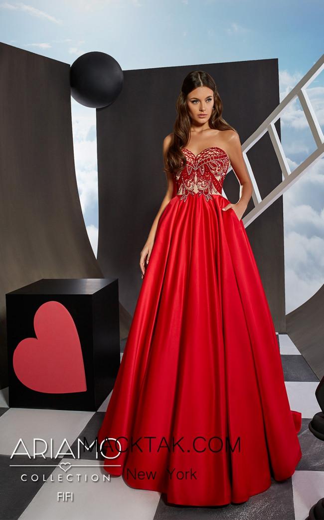 Ariamo Fifi Front Dress