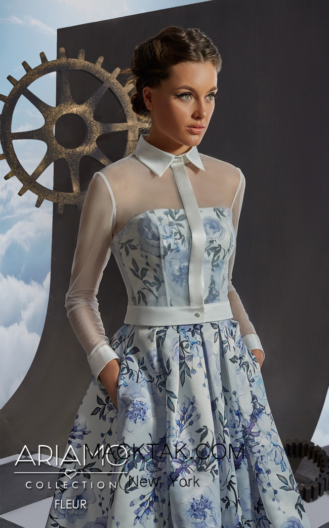 Ariamo Fleur bolero Front2_Dress