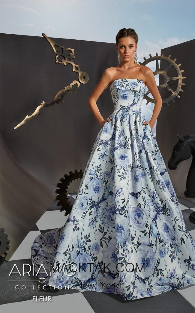 Ariamo Fleur Front Dress