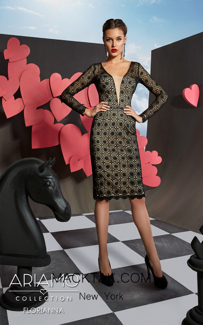 Ariamo Floriana Front Dress