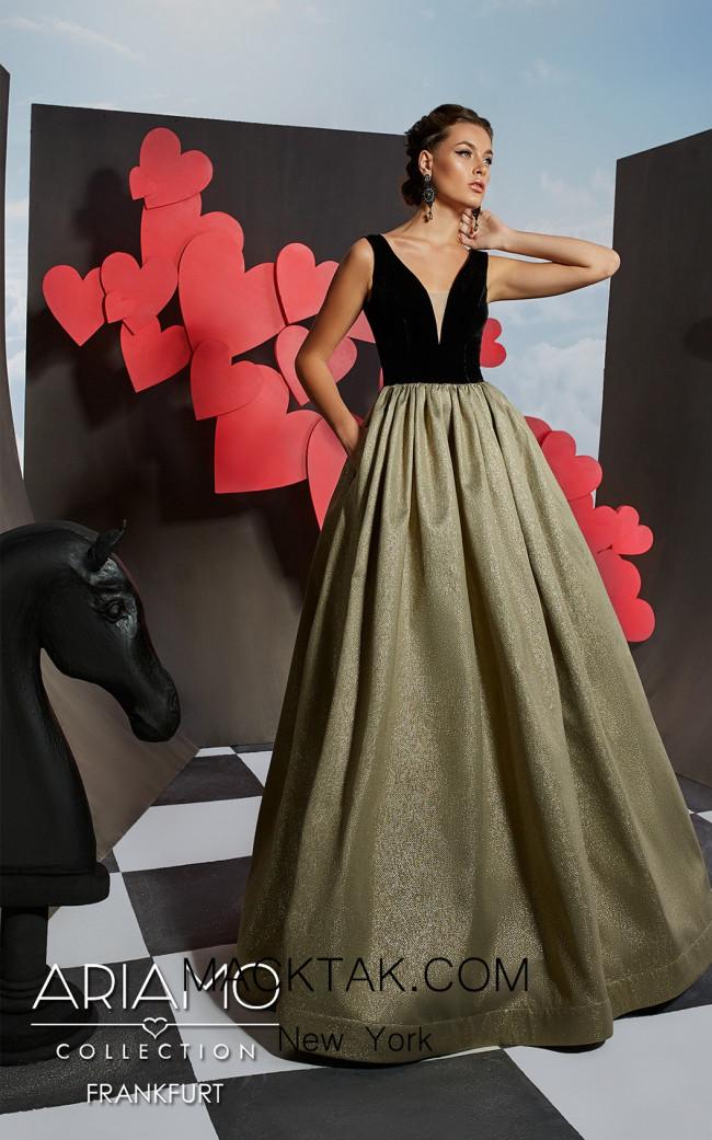 Ariamo Frankfurt Front Dress