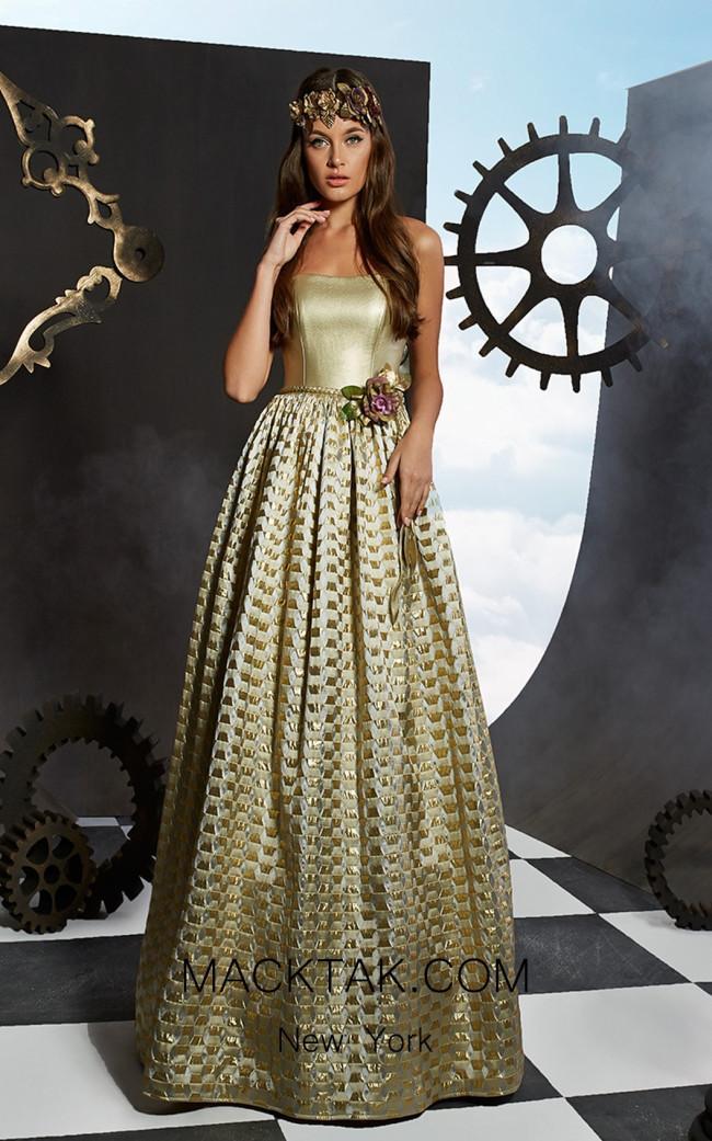 Ariamo Fudjee Front Dress