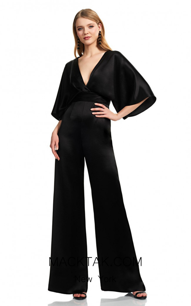 Theia Couture 883696 Black Front Dress