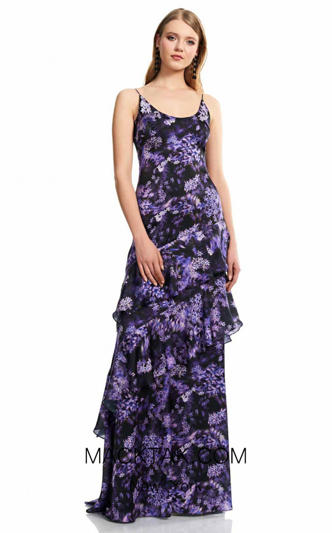 Theia Couture 883698 Violet Front Dress