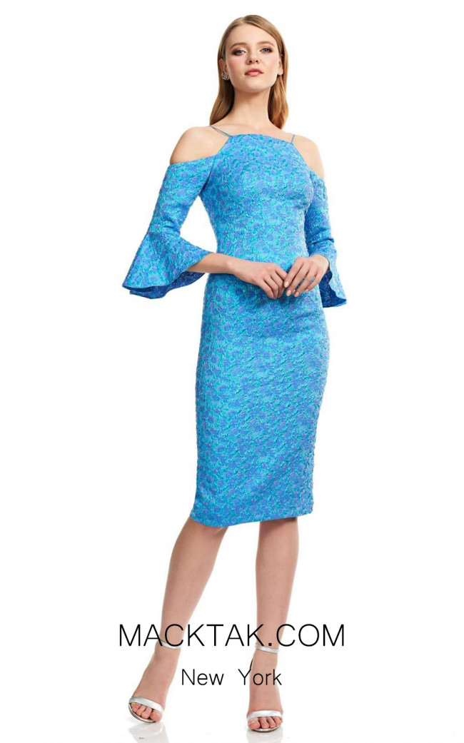 Theia Couture 883741 Azure Front Dress