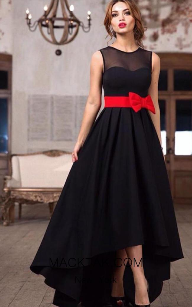 TK AS144 Black Evening Dress