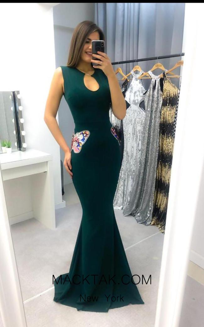TK AS146 Gree Evening Dress