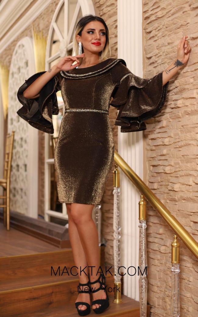 TK DA026 Front Evening Dress
