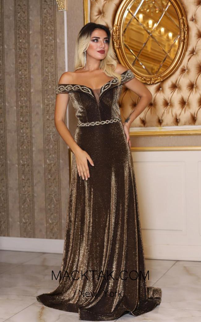 TK DA029 Front Evening Dress
