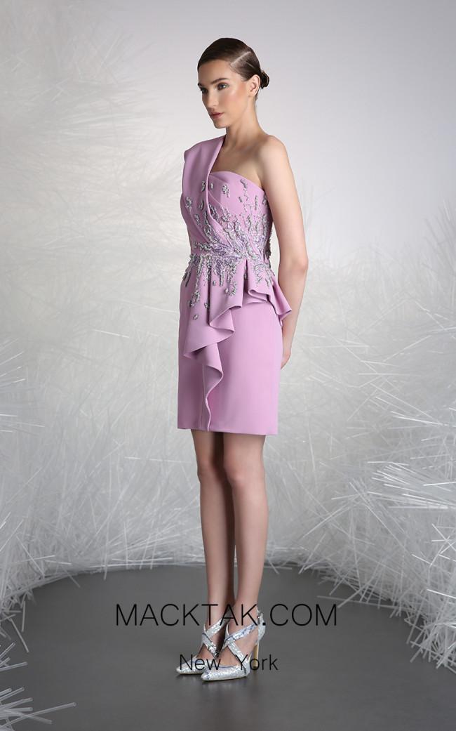 Tony Ward FW26 Lilac Front Evening Dress