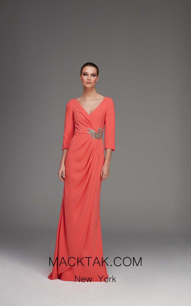 Victoria Hana Front Dress