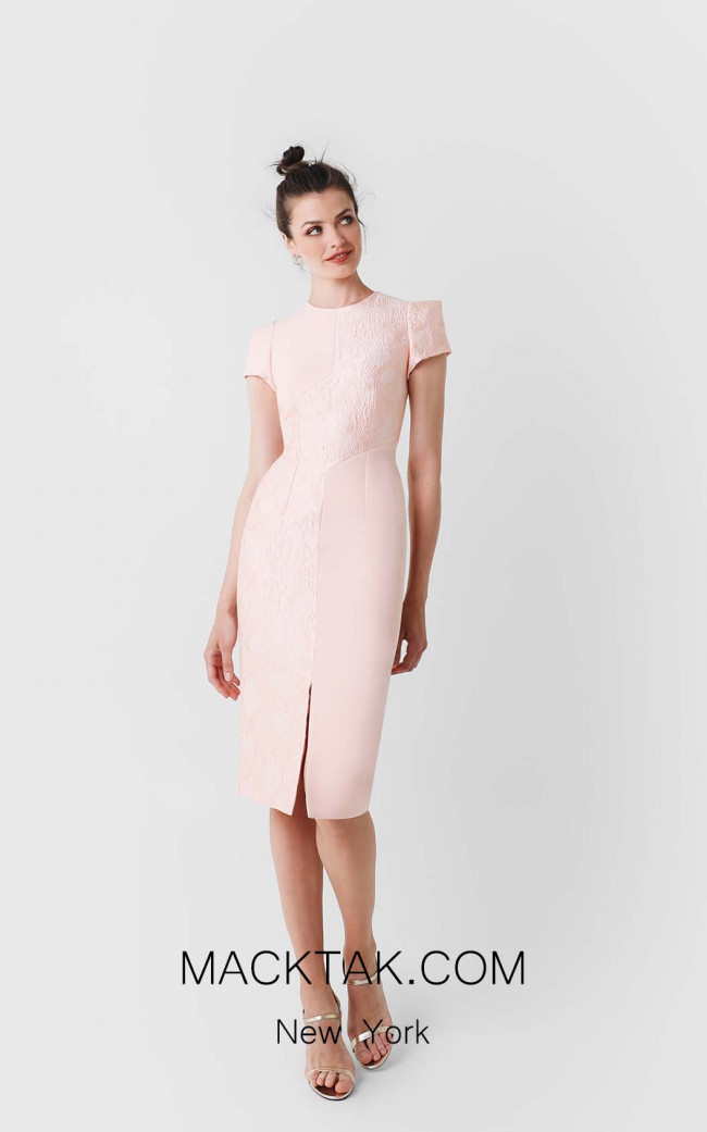 Victoria Jaela Pink Front Dress