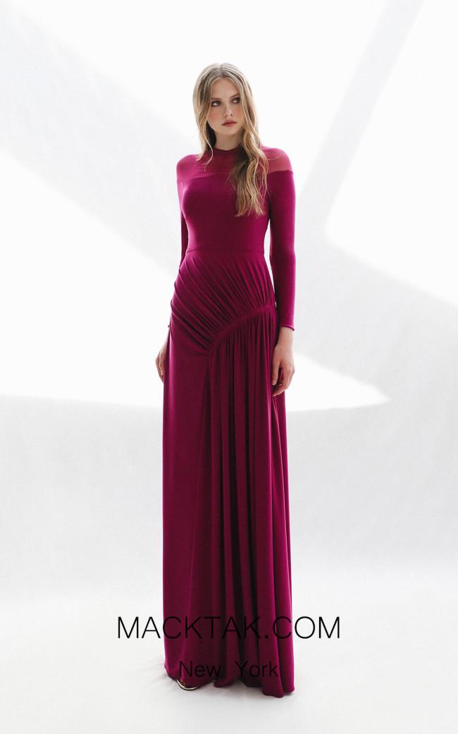 Victoria Jodie Purple Front Dress