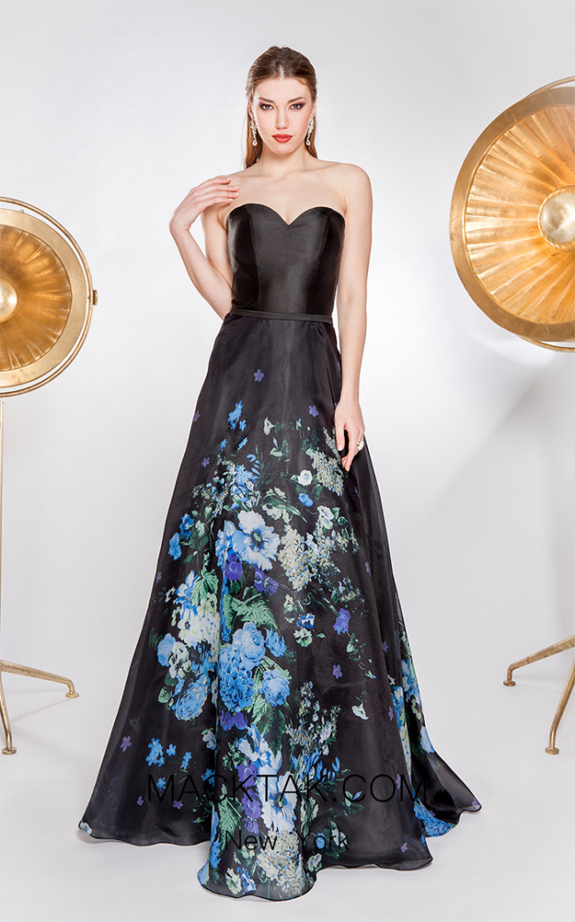 X & M Couture 49004 Front Evening Dress