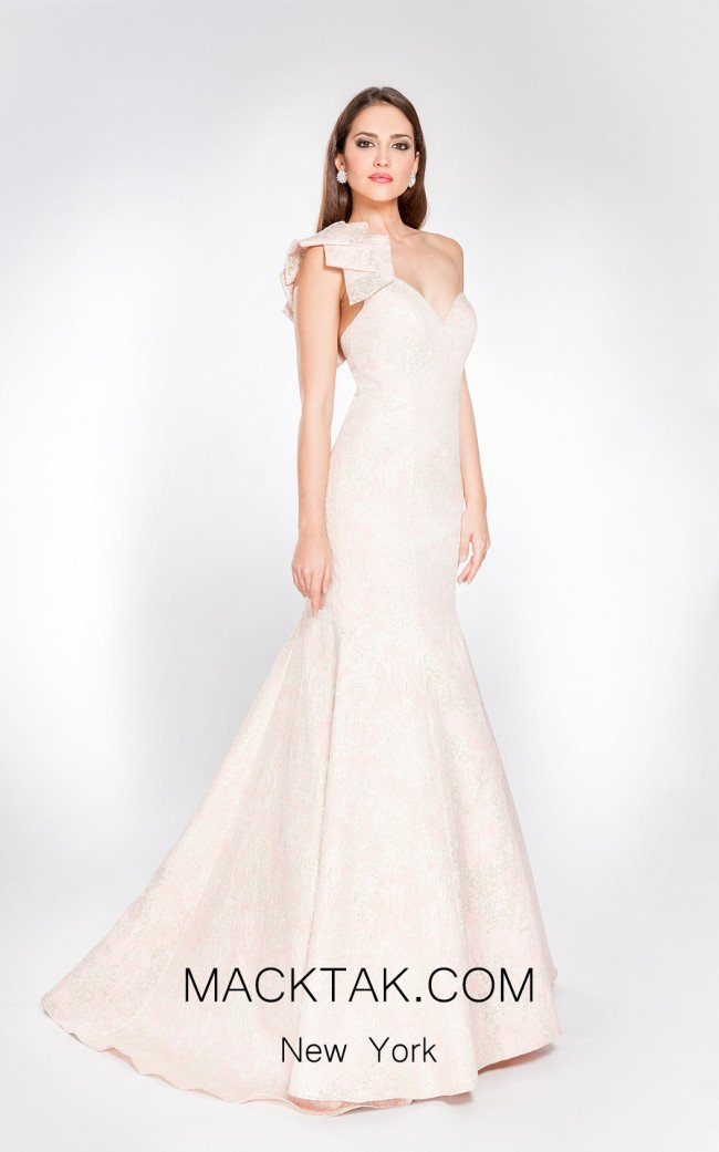 X & M Couture 49005 Front Evening Dress