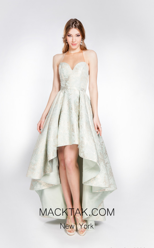 X & M Couture 49006 Front Evening Dress