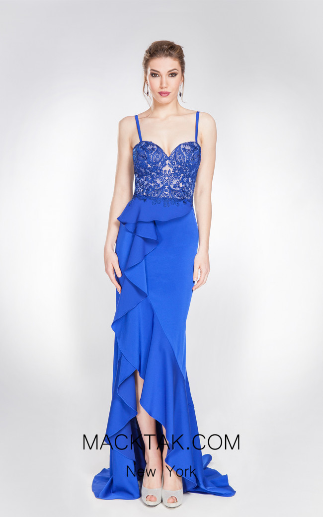 X & M Couture 49008 Front Evening Dress