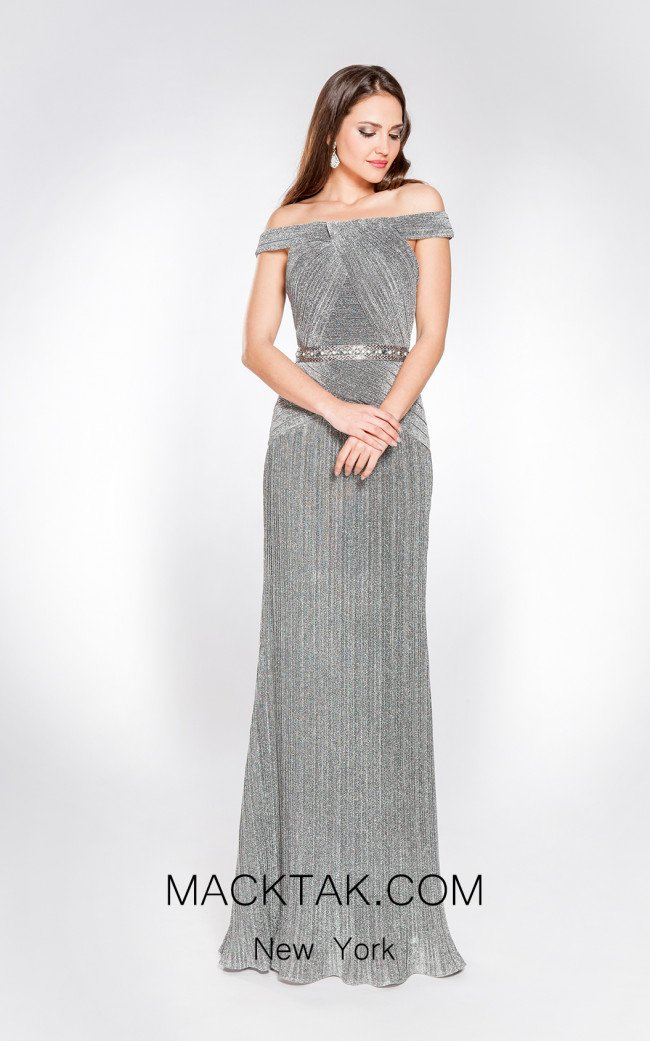 X & M Couture 49031 Front Evening Dress
