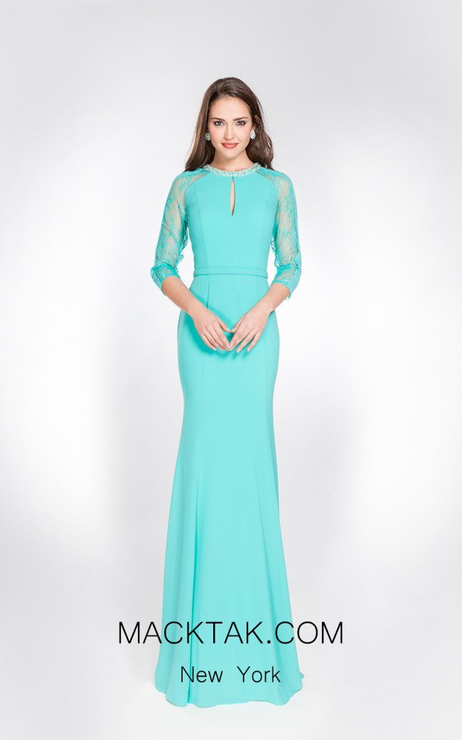 X & M Couture 49033 Front Evening Dress
