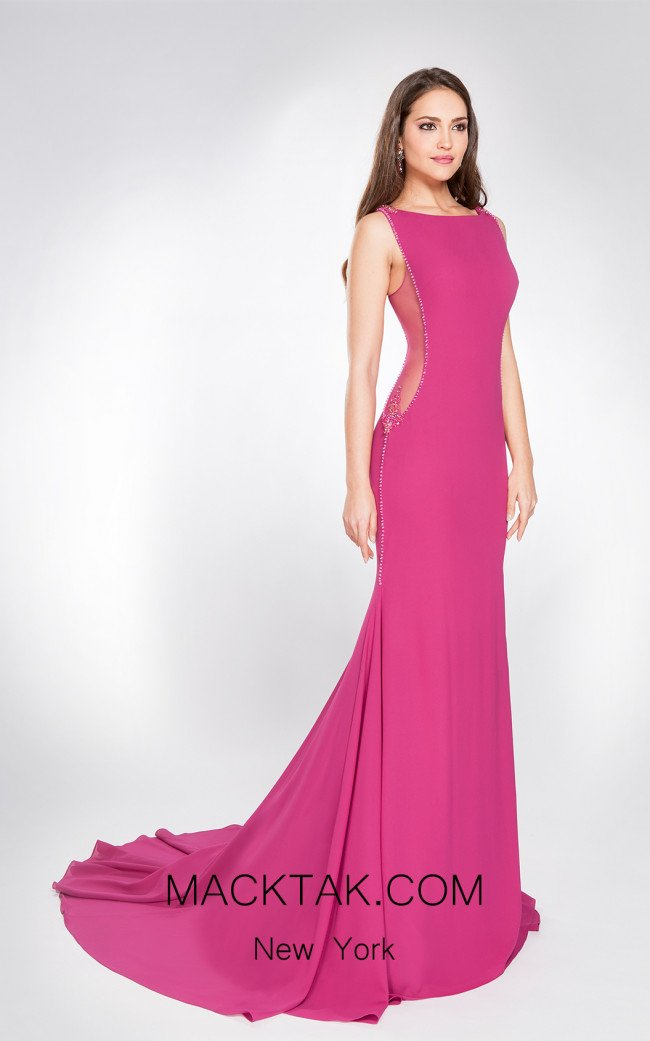 X & M Couture 49037 Front Evening Dress
