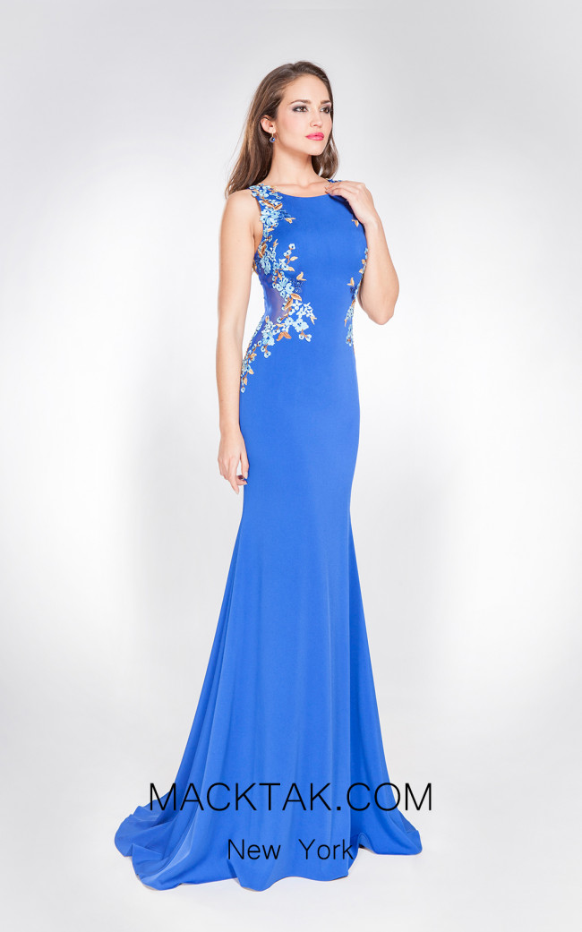 X & M Couture 49040 Front Evening Dress