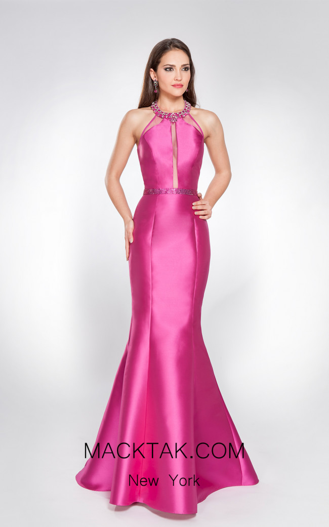 X & M Couture 49045 Front Evening Dress