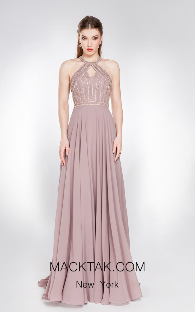 X & M Couture 49053 Front Evening Dress