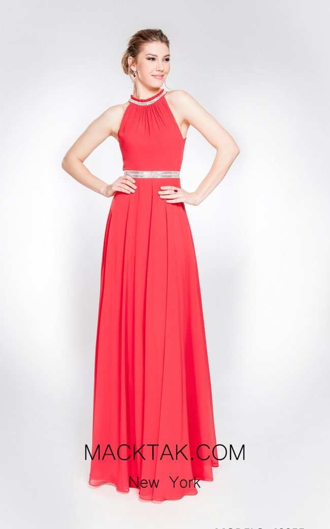 X & M Couture 49055 Front Evening Dress