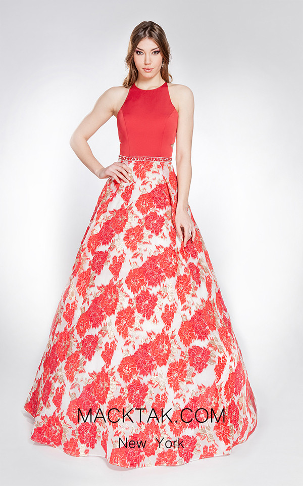 X & M Couture 49061 Front Evening Dress