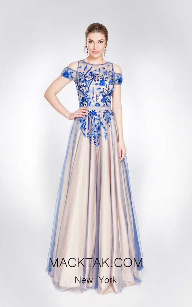 X & M Couture 49067 Front Evening Dress